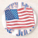 Día de la Independencia 4 de julio Posavasos Manualidades