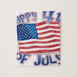 Día de la Independencia 4 de julio Puzzles