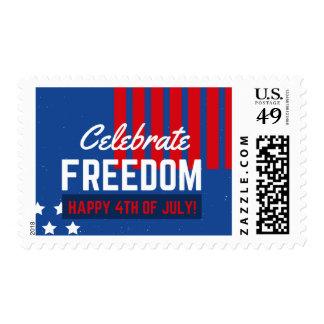 Día de la Independencia 4 de julio Sellos