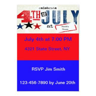Día de la Independencia: 4to de las invitaciones Comunicados