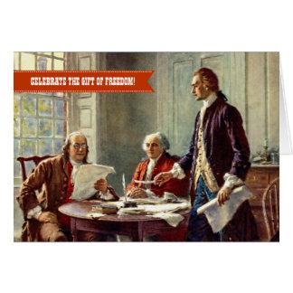 Día de la Independencia, 4to de las tarjetas de la