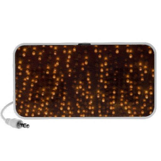 Día de la Independencia brillante de las luces del iPod Altavoz