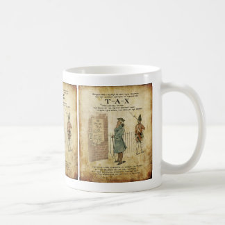 Día de la Independencia de la fiesta del té de Bos Tazas De Café