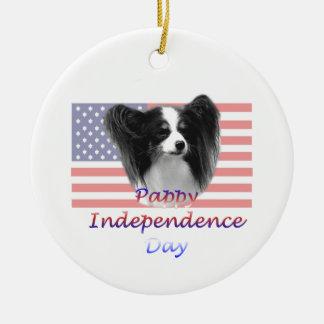 Día de la Independencia de Pappy Ornamento De Reyes Magos