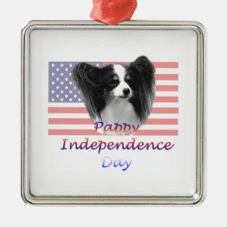Día de la Independencia de Pappy Ornamento Para Arbol De Navidad