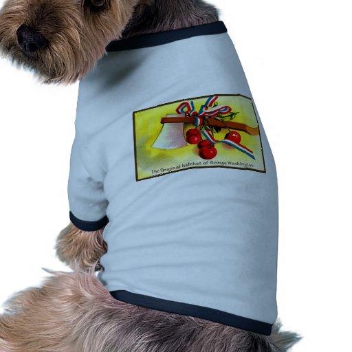 Día de la Independencia del vintage Camiseta Con Mangas Para Perro