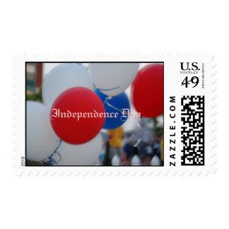 Día de la Independencia, el 4 de julio Estampilla