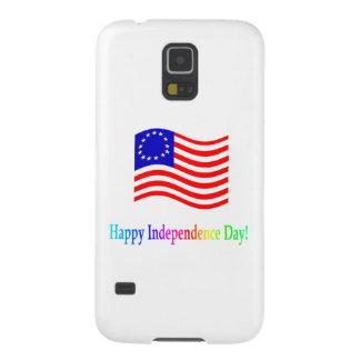 Día de la Independencia feliz Funda De Galaxy S5