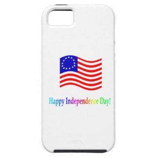 Día de la Independencia feliz iPhone 5 Case-Mate Coberturas