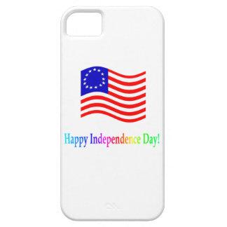 Día de la Independencia feliz iPhone 5 Cárcasa