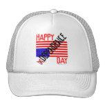 Día de la Independencia feliz Gorros