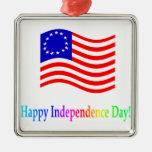 Día de la Independencia feliz Ornatos