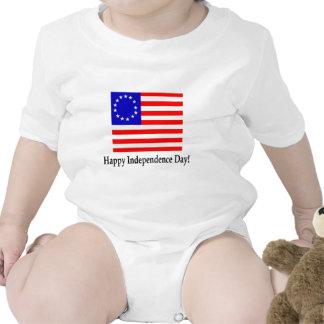 ¡Día de la Independencia feliz! Traje De Bebé