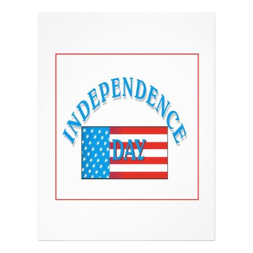 Día de la Independencia Tarjetas Informativas