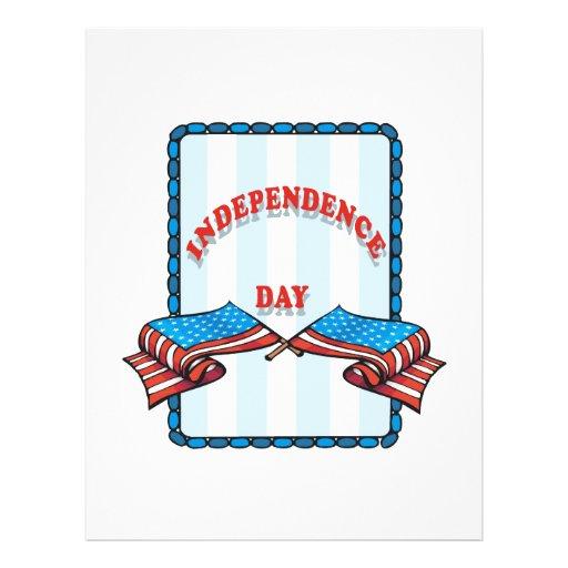 Día de la Independencia Tarjetas Publicitarias