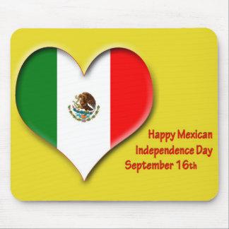 Día de la Independencia Mousepad 16 de septiembre