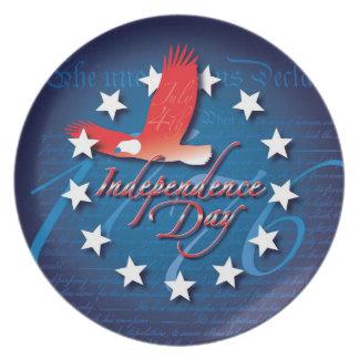 Día de la Independencia Plato