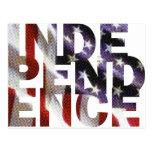 Día de la Independencia Postales
