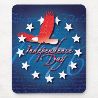 Día de la Independencia Alfombrillas De Ratones