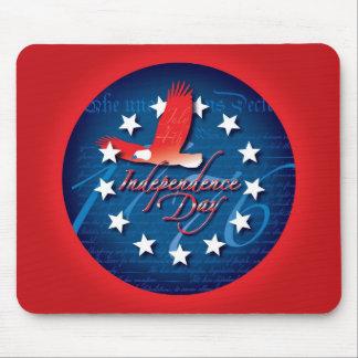 Día de la Independencia Alfombrillas De Ratón