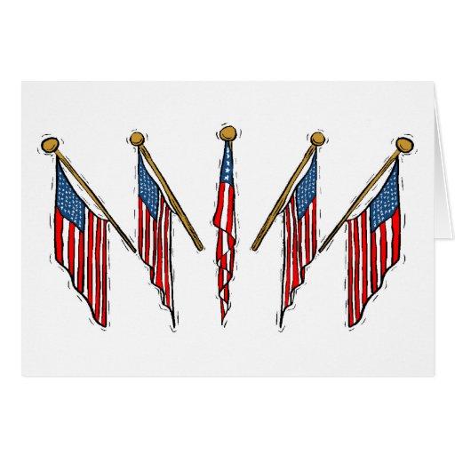 Día de la Independencia Tarjeta De Felicitación