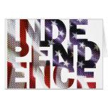 Día de la Independencia Tarjeton