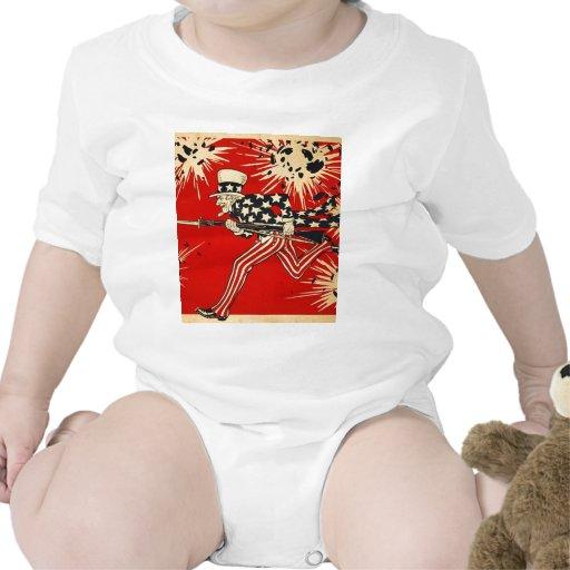 Día de la Independencia Trajes De Bebé