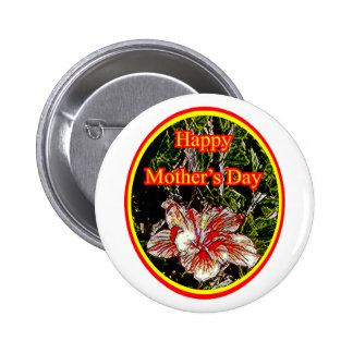 Día de la madre feliz 2 o del hibisco del paño El Pin