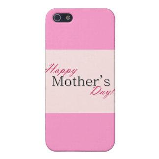 Día de la madre feliz iPhone 5 protector