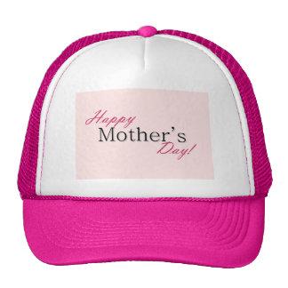Día de la madre feliz gorros bordados
