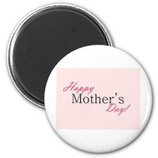 Día de la madre feliz imán de frigorífico