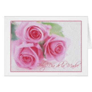 Dia de la Madre Greeting Card