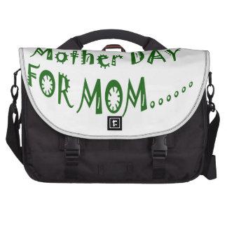 Día de la madre para la mamá beHappy junto Bolsas Para Portatil