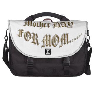 Día de la madre para la mamá bolsas de ordenador