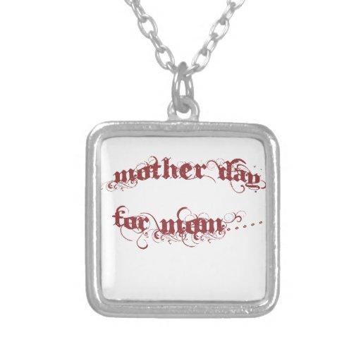 Día de la madre para la mamá joyeria