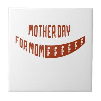 Día de la madre para la mamá teja  ceramica