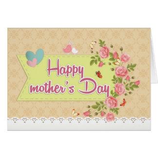 Día de la madre tarjeta pequeña