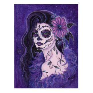 Día de la margarita del chica muerto del encanto tarjeta postal