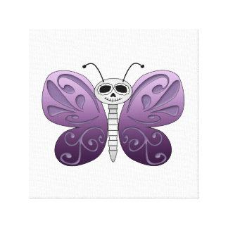 Día de la mariposa del diseño muerto lienzo envuelto para galerias