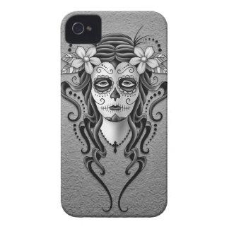 Día de la mujer muerta gris iPhone 4 cárcasa