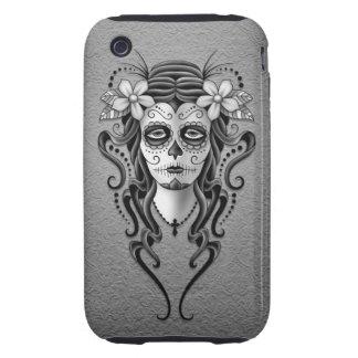 Día de la mujer muerta, gris tough iPhone 3 carcasas