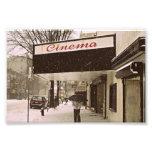 Día de la nieve en el cine fotografias