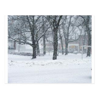 Día de la nieve en Kahoka MES Postales