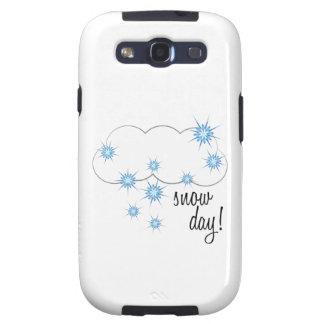 ¡Día de la nieve! Samsung Galaxy SIII Funda
