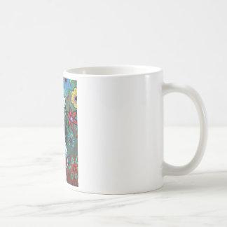 Día de la pintura muerta de la enfermera taza de café