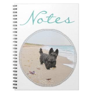 Día de la playa note book