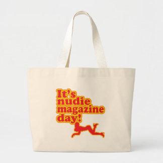 ¡Día de la revista de Nudie! Bolsa Tela Grande