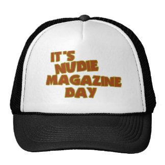 Día de la revista de Nudie Gorro De Camionero
