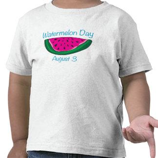 Día de la sandía camiseta