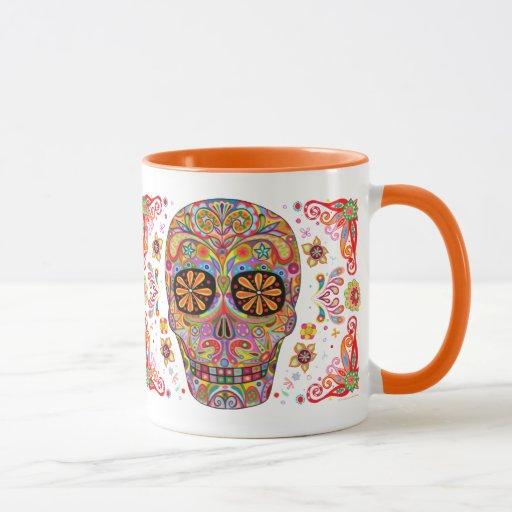 Día de la taza/del Dia muertos de los Muertos Mug Taza